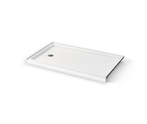 Aquarius ICON Alcove Shower Pan 60″ X 36″ X 3″ L/R Drain SB 6036 LR