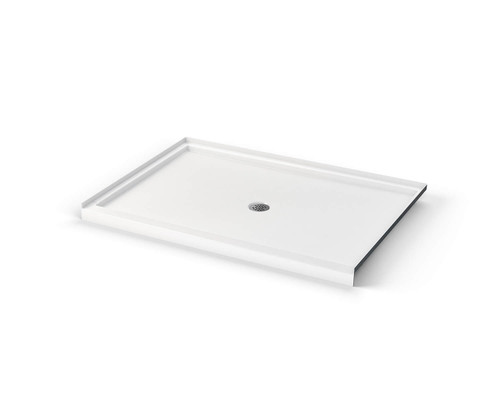 Aquarius ICON Alcove Shower Pan 60″ X 42″ X 3″ Center Drain SB 6042 C