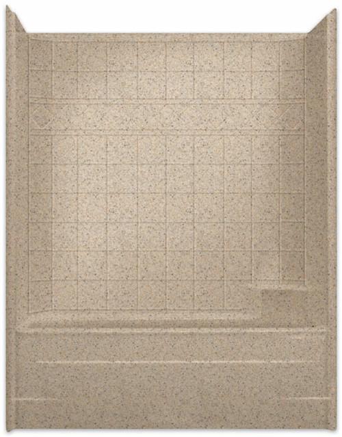 Aquarius Millenia Tub Shower 60W x 33D x 77H Tile Pattern | RH Drain M6032TSTile R