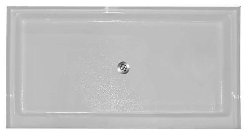 "Aquarius | Premium Cast Acrylic shower Pan | 48W x 34D x 5.25H | 4"" threshold | Center Drain | AB 3448, cheap shower base, discount shower base, low price shower base, best price shower base, tile shower base, accessible shower base, aging in place shower base, no threshold shower base, low threshold shower base, Sectional shower, cheap shower pan, low price shower pan, discount shower pan, best price shower pan, accessible shower pan, Handicap accessible shower pan, accessible shower pan"