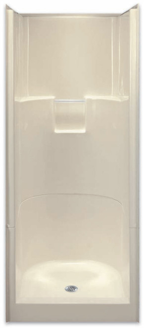 Aquarius AcrylX ™ 2P Alcove Shower 31.75W x 33.75D x 76H Center Drain G 3275 SH 2P