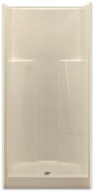 Aquarius AcrylX ™ | 36W x 36D x 78H | Two-Piece Sectional Shower | Center drain | Molded Soap Dishes | G3687SH2P