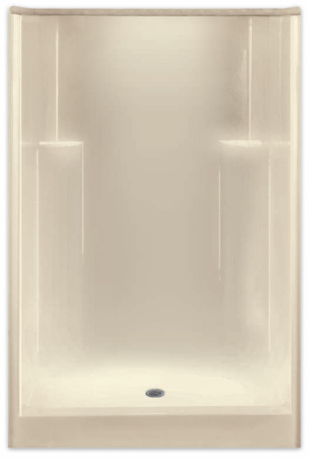 Aquarius AcrylX ™ | Shower Smooth Wall | 48W x 35.5D x 74H | Center Drain | G4836SHNS , low price shower, best price shower, cheap one piece shower, grab bar shower, cheap shower, Discount shower, aging in place shower, accessible showers,