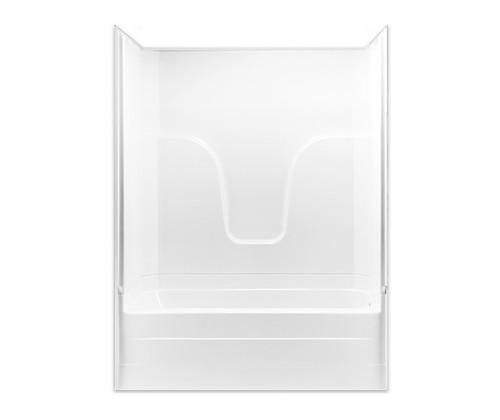 Aquarius AcrylX™ Two-Piece Tub Shower 60″ X 32 1/2″ X 80″ L/R Drain G 6017 TS 2P