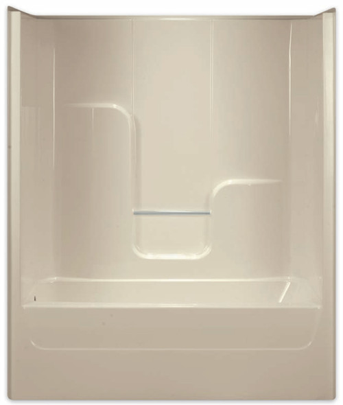 Aquarius AcrylX™ 60 x 32 Tub Shower Combo Smooth Wall Right Side Drain G6004TSR