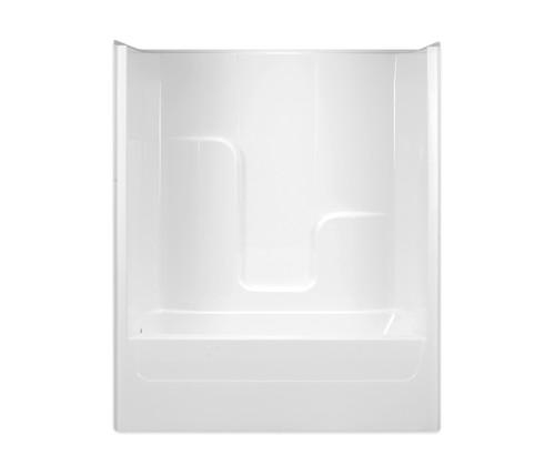 Aquarius AcrylX™ One-Piece Tub Shower 60″ X 32″ X 72 1/2″ L/R Drain G 6004 TS