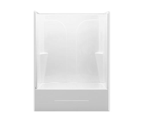 """Aquairus AcrylX ™ Two-Piece Tub Shower 54"""" X 27.25"""" X 73.5"""" L/R Drain G 5494 TS 2P"""