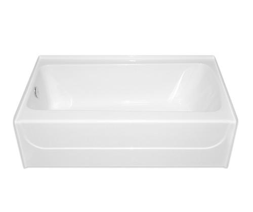 Aquarius AcrylX™ Alcove Bathtub 54″ X 31 3/4″ X 16 1/4″ L/R Drain G 5432 TO
