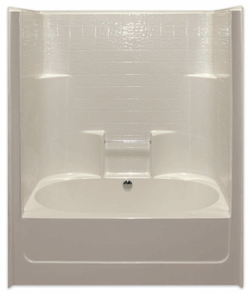 Aquarius AcrylX™ One-Piece Tub Shower 43 1/4″ X 60″ X 77 1/4″ G 6042 TS CD Tile