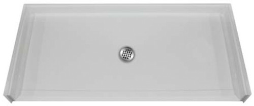 Aquarius AcrylX™ Barrier-Free Shower Pan 50 1/4″W X 50 1/8″D X 1″H Center Drain | MPB 5050 BF 1.0 C