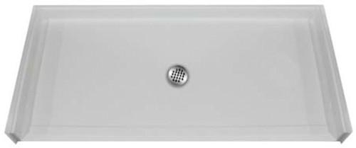 "Aquarius AcrylX™ | Barrier Free Shower Pan | Accessible Shower Base | 60"" x 31"" x 4.25"" | Center Drain | MPB 6030 BF .75 C , remodel shower pan, cheap shower base, discount shower base, low price shower base, best price shower base"