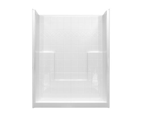 Aquarius Acrylx™ Millennia M 6033 SH NS Tile Alcove Shower 33″ X 60″ X 77 1/2″ ,  buy shower unit, shop bathroom showers, shower insert replacement, shower shower, standing shower replacement,  bathroom & shower,  bathroom shower inserts, bathroom shower kits, bathroom shower stalls,  bathroom stand up showers, barrier free shower stall, barrier free shower dimensions, no barrier shower, shower barrier,  barrier free bathroom,  barrier free shower design ideas,  barrier free shower enclosure, barrier free shower floor, barrier free shower ideas, barrier free shower stall