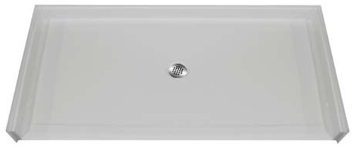 "Aquarius AcrylX™ Barrier Free Shower Pan 60""W x 37""D x 4.5""H Center Drain 