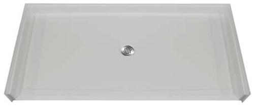 "Aquarius AcrylX™ Barrier Free Shower Pan 60""W x 37""D x 4.5""H Center Drain MPB 6036 BF .875 C"
