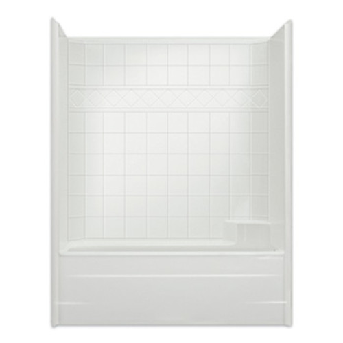 Aquarius AcrylX™ CHM 6032 TS One-Piece Tub Shower 33″ X 60″ X 76 1/2″