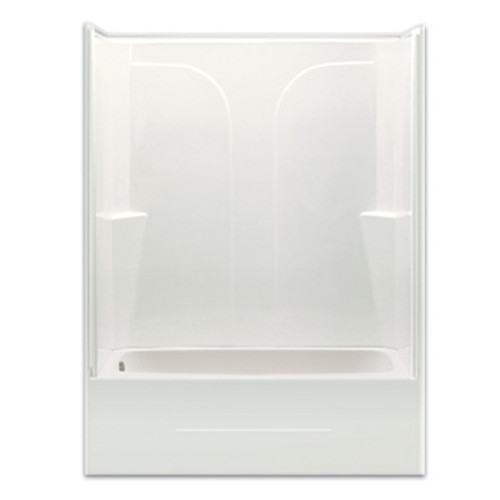 "Aquarius AcrylX™ 2-Piece Reinforced Tub Shower 54"" x 27.25"" x 72"" CHG 5494 TS 2P"