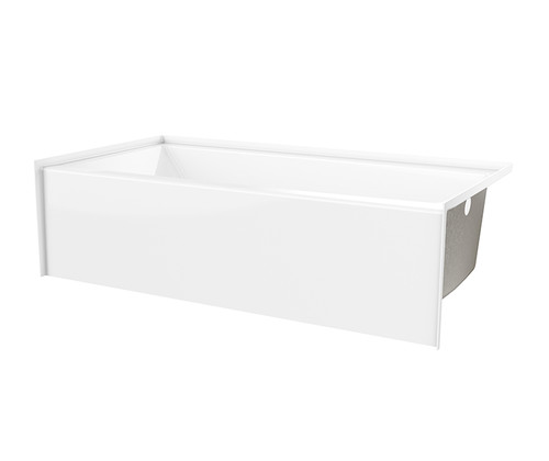 Aquarius AcrylX™ G 6030 TO MIN Alcove Bathtub 31″ X 60″ X 19″  Key benefits Modern minimalist soaking tub.