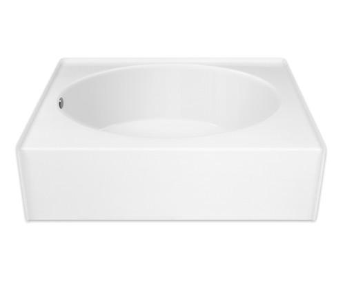 Aquarius AcrylX™ Alcove Oval Soaking Bathtub 60″ X 37 1/4″ X 22″ GGT 36 TO