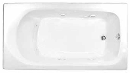 Aquarius Contractor Advantage Series 60 x 32 Drop In Acrylic Soaker Tub - RN 6032