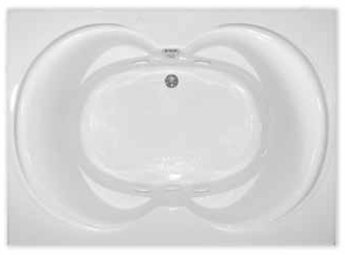 Aquarius RN RIO 6042 | 60W x 42D x 21H | Five foot acylic soaker tub | Drain Location: center
