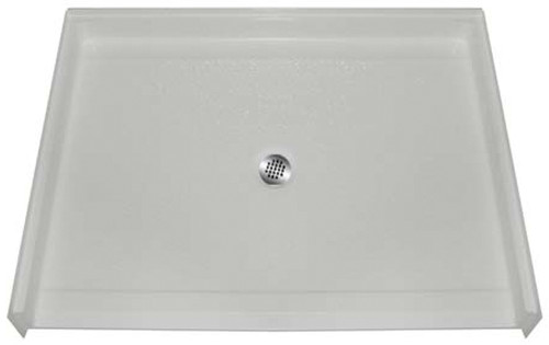 Aquarius AcrylX™ Barrier Free Shower Pan 48″W X 37″D X 7/8″H Center Drain | MPB 4836 BF .875 C