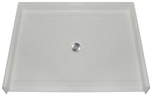 Aquarius AcrylX™ Barrier Free Shower Pan 48″W X 37″D X 7/8″H Center Drain MPB 4836 BF .875 C