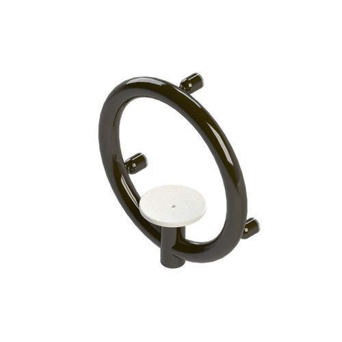 Invisia Soap Dish Oil Rubbed Bronze Integrated support rail with a 500lbs capacity INV-SD-ORB
