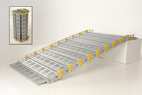 Roll-A-Ramp®  7' x 36'' Portable Aluminum Ramp A13606A19