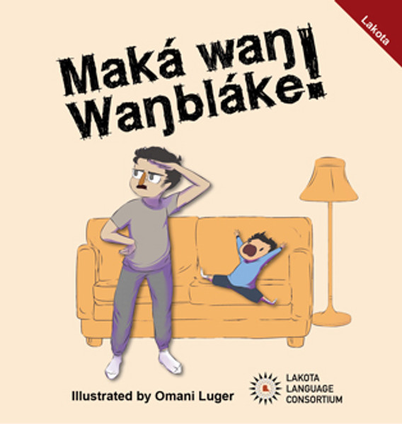 Maká waŋ Waŋbláke! | I Saw a Skunk!