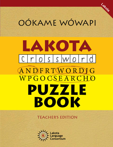 Oókame Wówapi - Lakota Puzzle Book Vol. 1 (Teacher Edition)