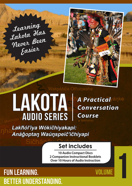 Lakota Audio Series:  A Practical Conversation Course Vol. 1