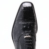 Belvedere Onesto Black Crocodile & Ostrich Men's Oxford