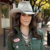 Charlie 1 Horse Desperado Buck Banded Cowgirl