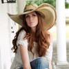 Charlie 1 Horse Coyote Natural Genuine Mexican Palm Straw Hat