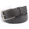 Belvedere Black Genuine Full Quill Ostrich Dress Belt
