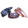 Lejon Anzio Brown Genuine Leather Belt