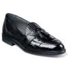 Black Genuine Snakeskin Loafers By Stacy Adams