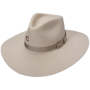 Charlie 1 Horse Highway Silver Belly Western Hat