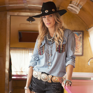 Charlie 1 Horse Traveler Black Western Hat