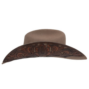 Charlie 1 Horse Cut Above Pecan Cowgirl Hat