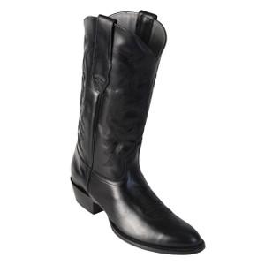 Los Altos Black Genuine Leather High-top Boots