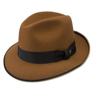 Stetson Lassitier Cognac  Wool Hat