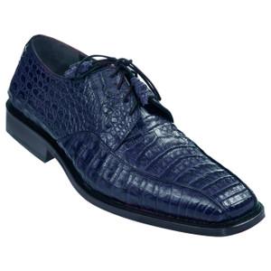 Los Altos Blue Caiman & Belly Crocodile Oxfords