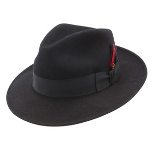 Stetson Gurnee Black Wool Hat