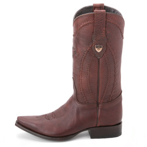 Wild West Brown Genuine Leather Boots