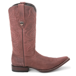 Wild West Cognac Desert Genuine Leather Boots