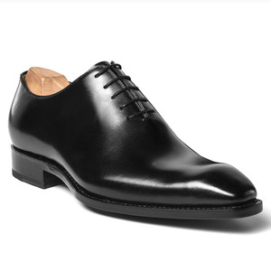 Ugo Vasare Jason Black Genuine Leather Oxfords