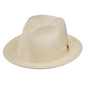 Dobbs Rosebud Ivory Florentine Milan Straw Hat