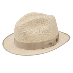 Stetson Runabout Natural Twisted Panama Soft Finish Straw Hat