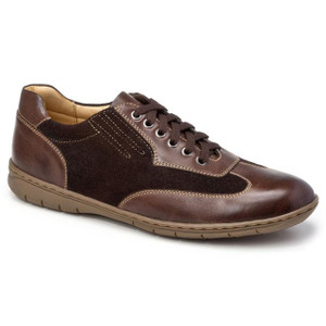 Sandro Moscoloni Vernon Brown Leather Sneakers
